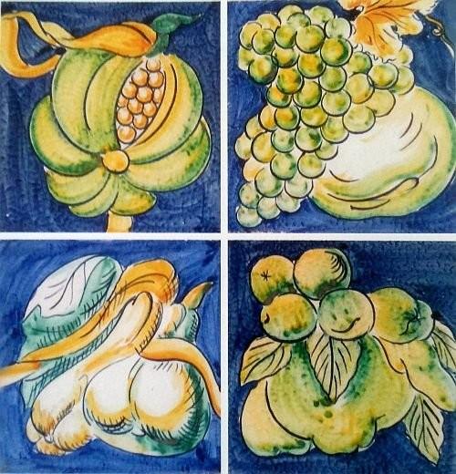 Французские плитки в итальянском стиле