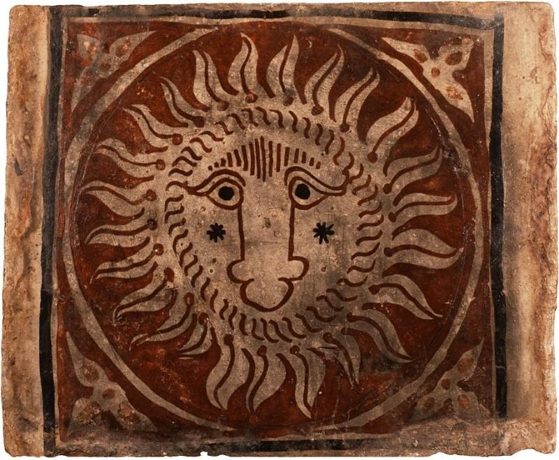 Керамический изразец из Патерна, 1490-1550 гг
