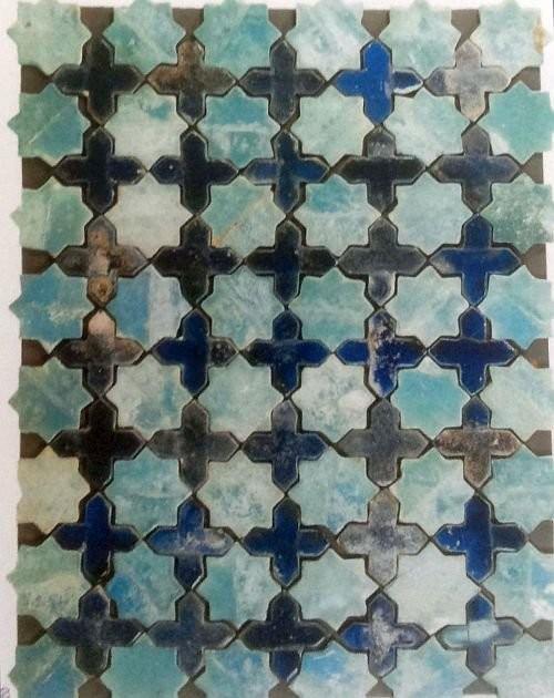 Персидская напольная мозаика, 1099 год