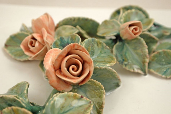 Летний сад, Керамические изразцы для облицовки печи или камина