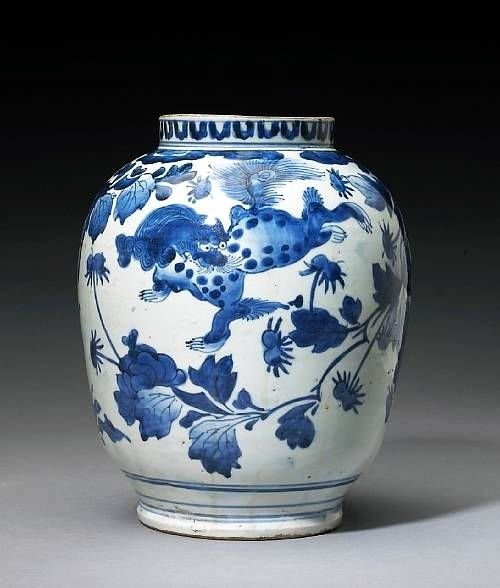 Арита, кобальтовая ваза