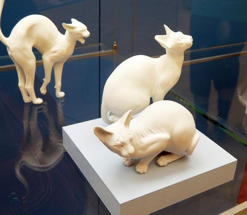 Коты-сфинксы, 2009 год. Художник Г. А. Белаш