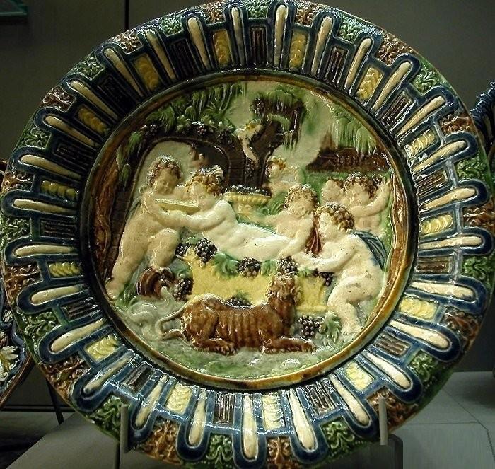 Тарелка. Бернар Палисси. 1575 год. Лувр