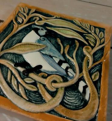 Изразцы Роквуд, керамическая облицовочная плитка под изразцы