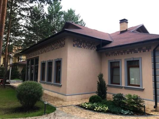 Еще один фасад с применением нашей Кофейной коллекции