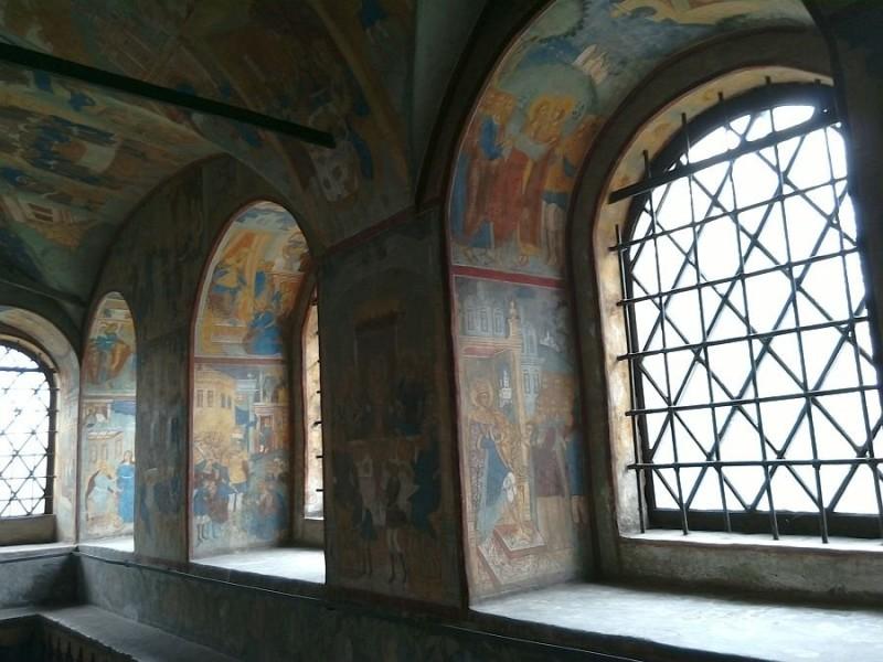 Фрески в храме Иоанна Предтечи. 1687 год