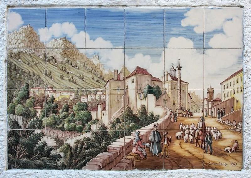 Керамические панно XIX века в Синтра, Португалия
