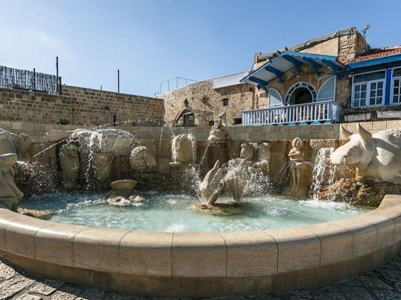Зодиакальный фонтан Старого Яффа