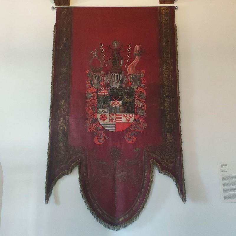 Знамя с гербом Веттинов 1550 года
