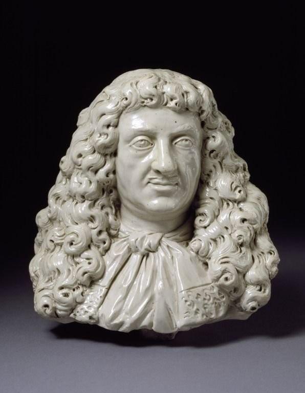 Бюст работы Джона Двайта. 1673-1675 годы