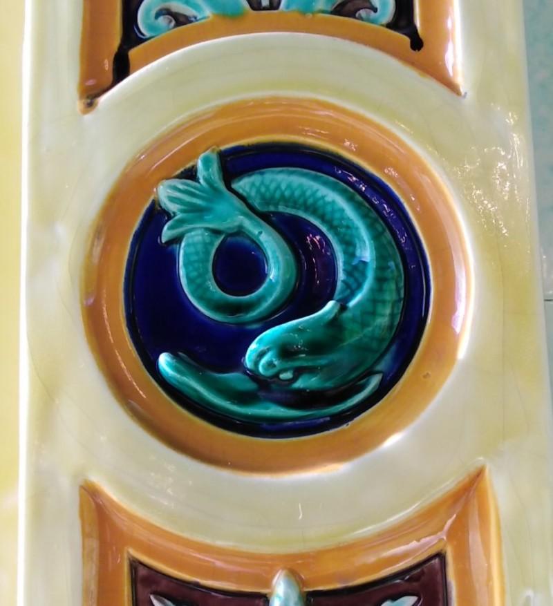 Барельефный керамический декор. Музей Саргемина