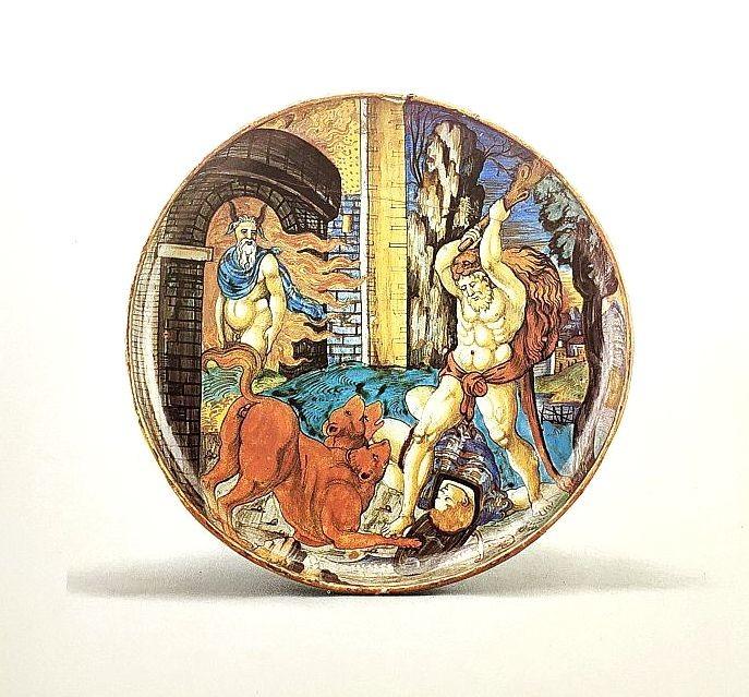 Урбино. Франческо Ксанто. 1532.