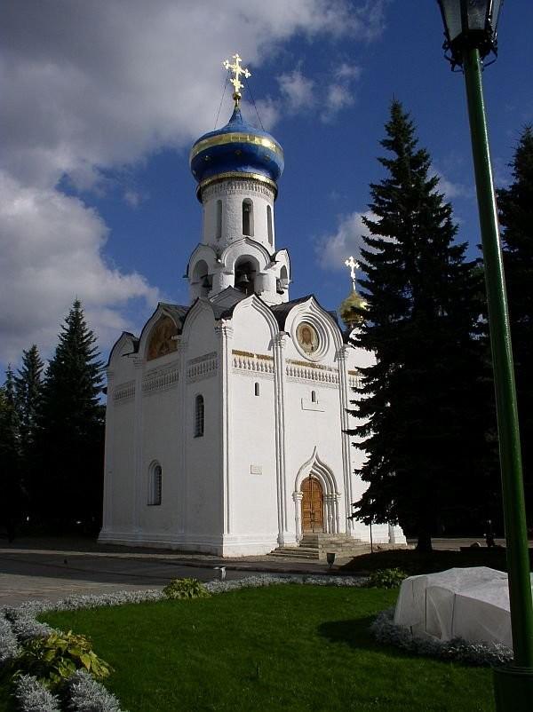 Духовская церковь Троице-Сергиева монастыря, 1476 год