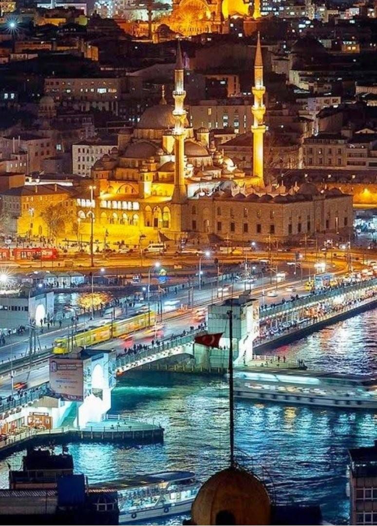 Стамбул. Галатский мост