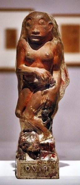 Овири, таитянская богиня смерти, 1894 год
