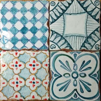 Паттерны - керамическая плитка ручной работы для облицовки