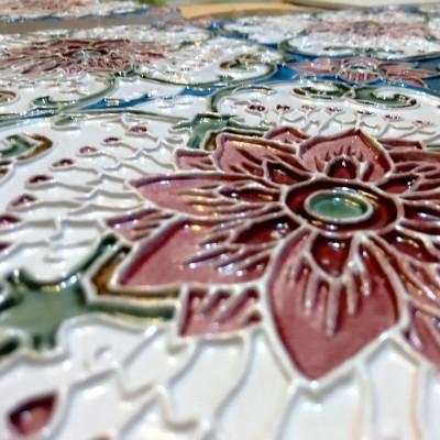 Мастерская майолики - фасадная керамика и майолика ручной работы, Изразцы, плитка под изразец. Купить в Москве