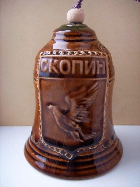 Современный керамический колокольчик