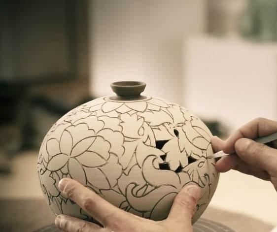Корейская керамика в Американском музее искусства керамики