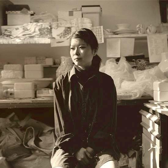 Керамистка Хитоми Хосоно
