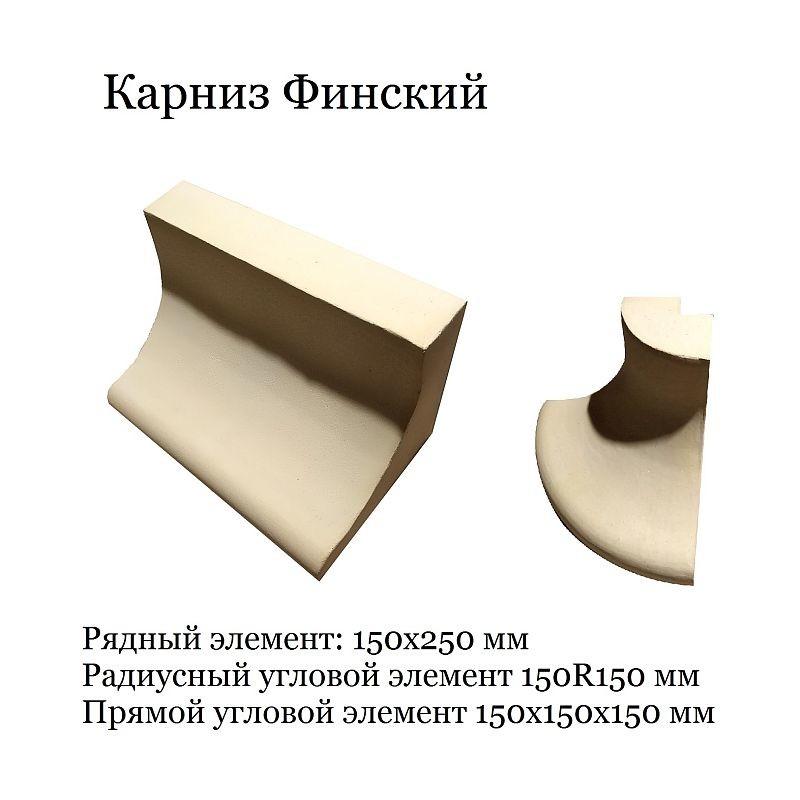 Керамический карниз для изразцовой печи или камина