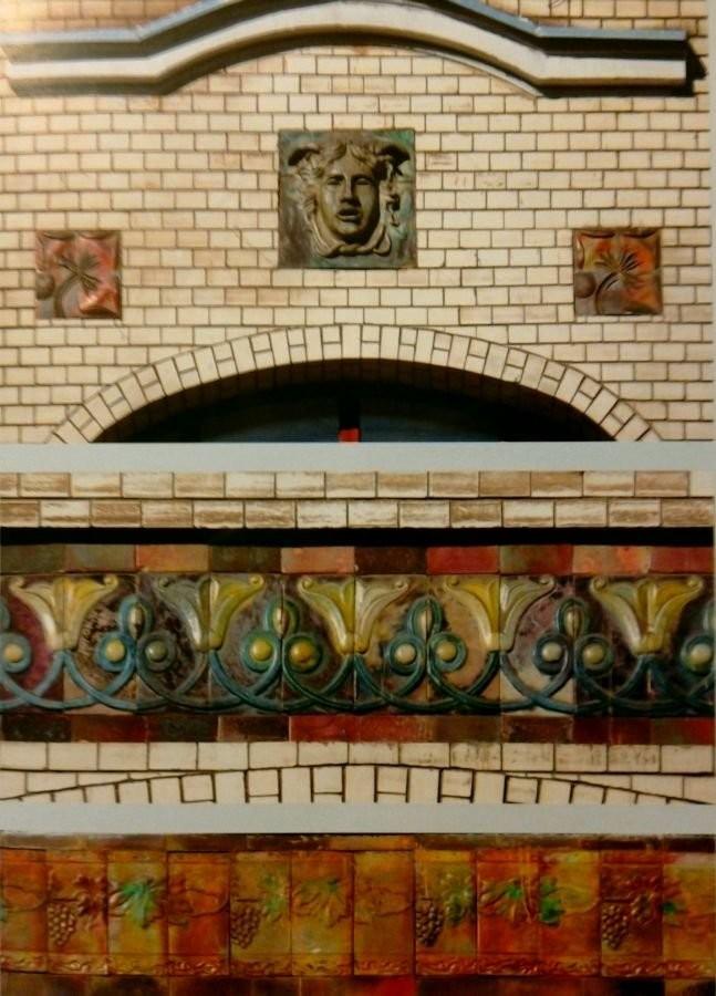 Керамический декор доходного дома Донскова. 1911 год