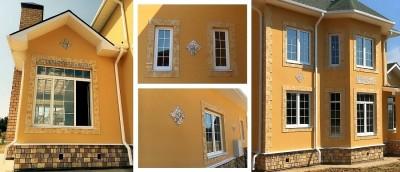 Если вас заинтересовал такой способ декорирования фасада позвоните нам по телефону +7 (495) 997-04-14 или напишите через форму внизу страницы. Мы наверняка сможем предложить вам интересное решение для вашего фасада.