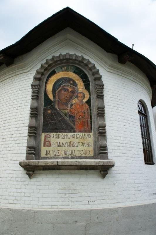 Керамические иконы для женского монастыря в Перми