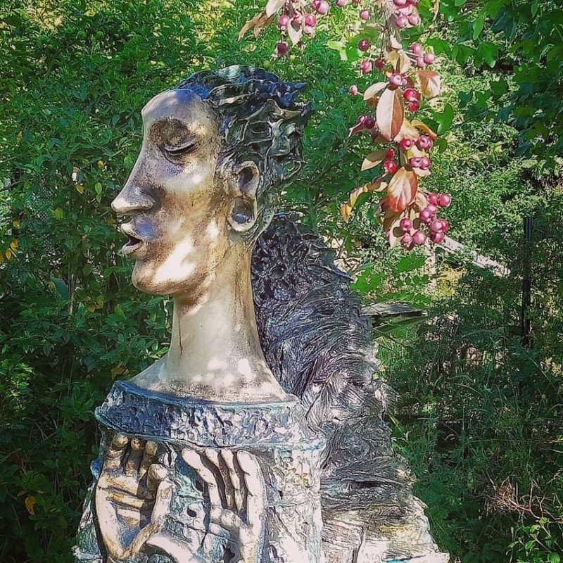 Керамический ангел Алены Залуцкой