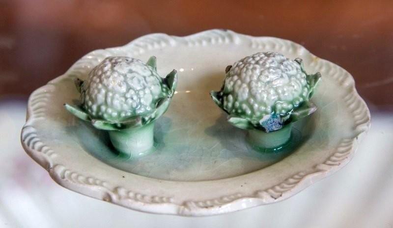 Уилдонские изделия с декоративной керамической цветной капустой