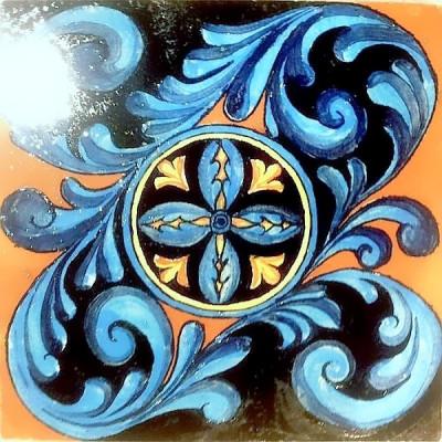 Изразцы Ренессанс, облицовка печи, камина керамической плиткой