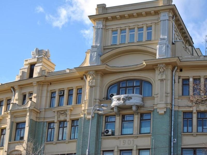 Гостиница «Боярский двор» (1901-1903, арх. Ф.О. Шехтель)