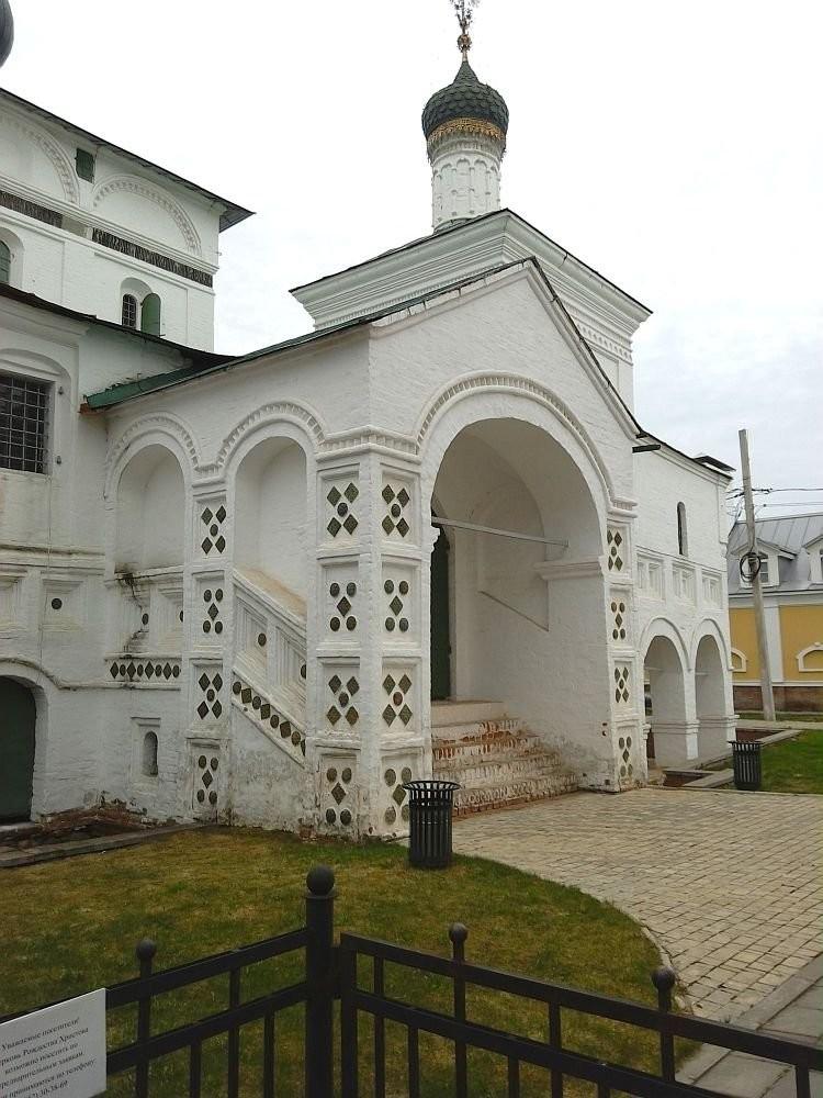 Церковь Рождества Христова, 1635 год