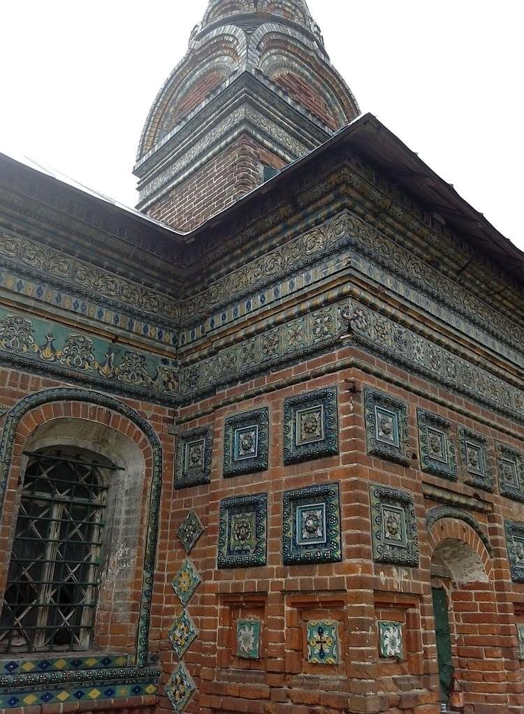 Храм Николы Мокрого, 1665 год