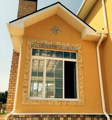Фасад Прованс. Фасадная керамика.