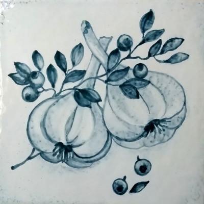 Изразцы Прованс, Керамическая плитка для облицовки печи или камина
