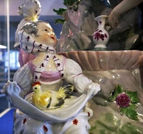 Фарфоровые скульптурки пластического периода. Венская фарфоровая мануфактура