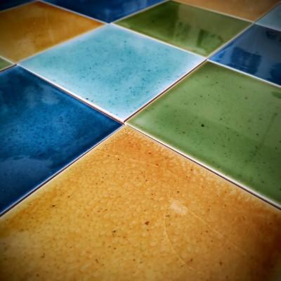Весенняя коллекция фасадной плитки майолики