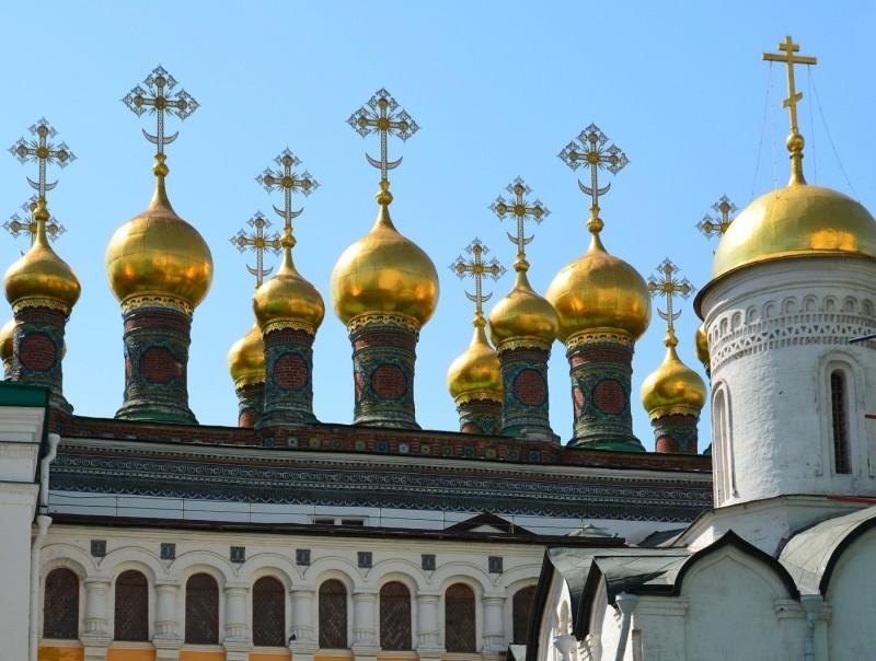 Церковь Ризоположения в московском Кремле. 1485 год