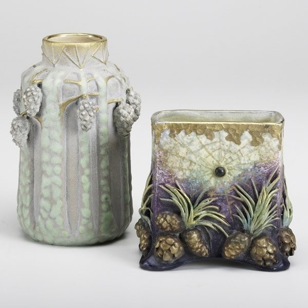 Керамические вазы завода Амфора