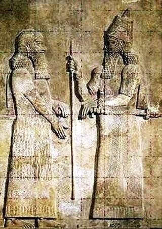 Элементы вавилонской архитектурной керамики