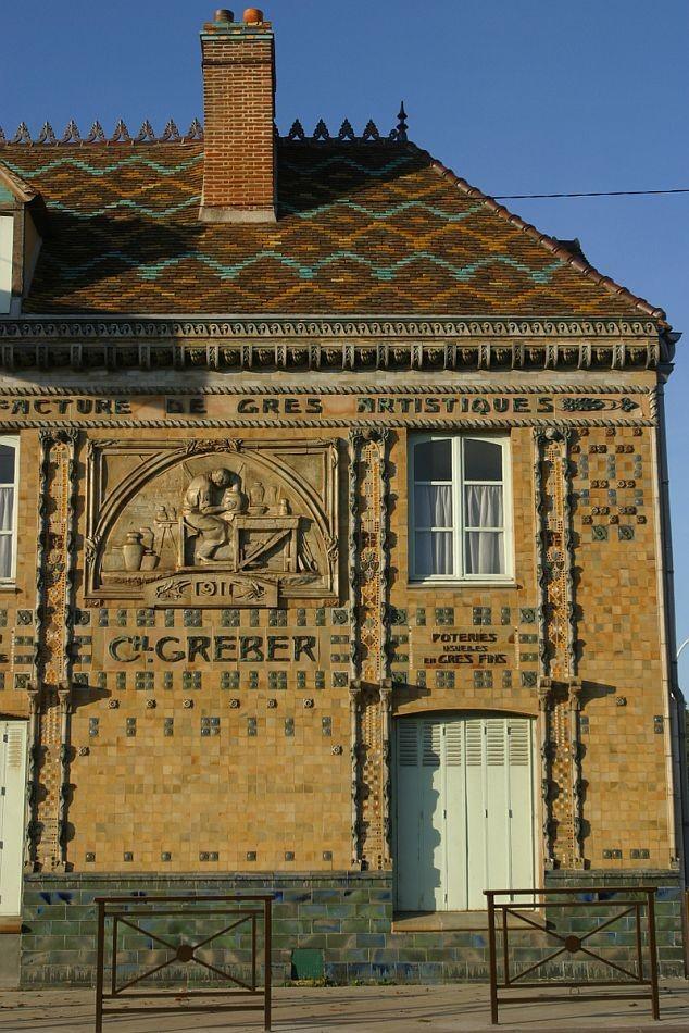 Здание мануфактуры Шарля Гребера