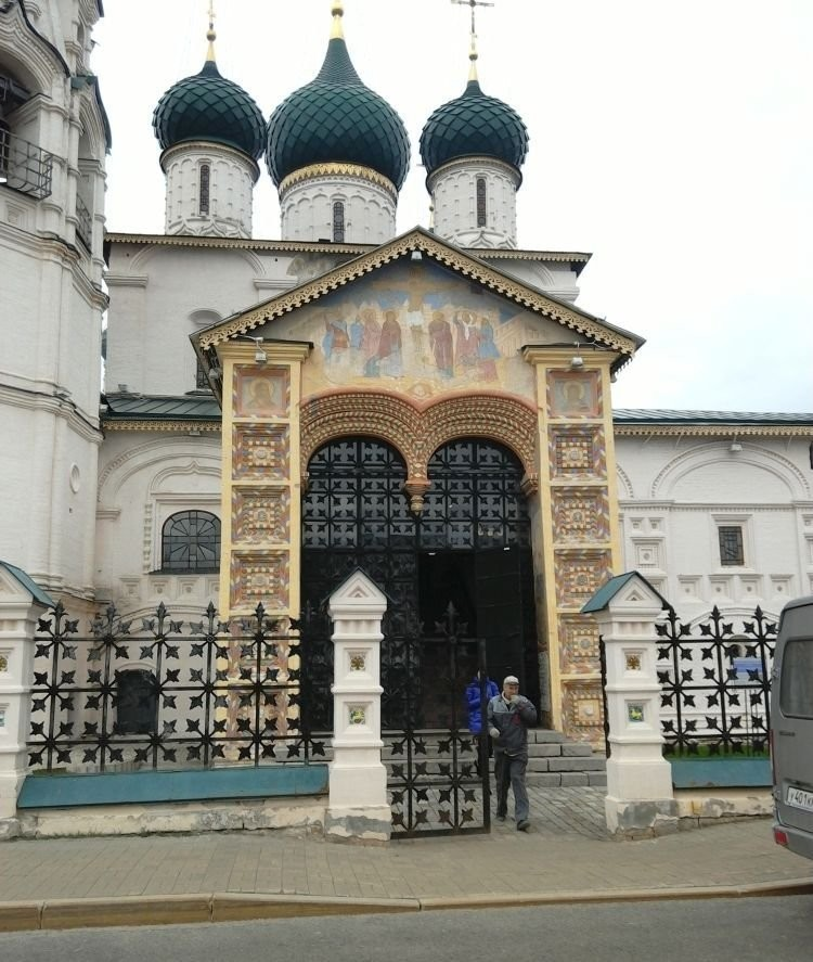 Церковь Ильи Пророка, 1647 год