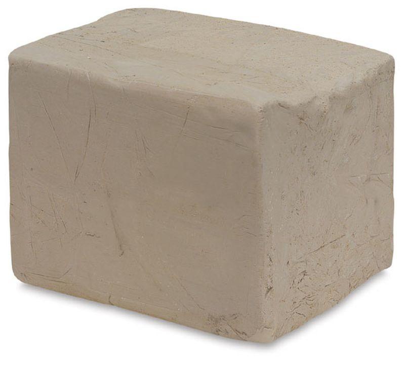 Брикет беложгущейся массы для керамики