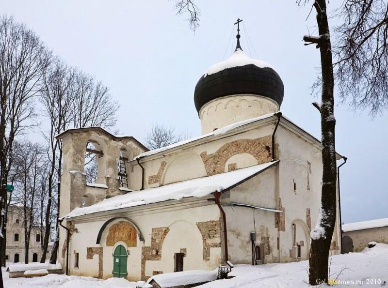 Псков,Спасо-Преображенский Мирожский монастырь, Спасо-Преображенский Собор, 1156 г