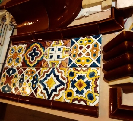 Изразцы с марокканскими орнаментами