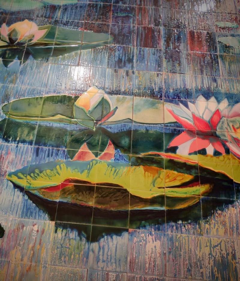Эффекты росписи глазурями
