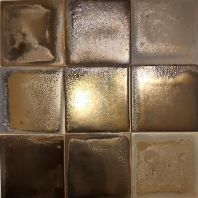 Майолика с эффектом металлизации