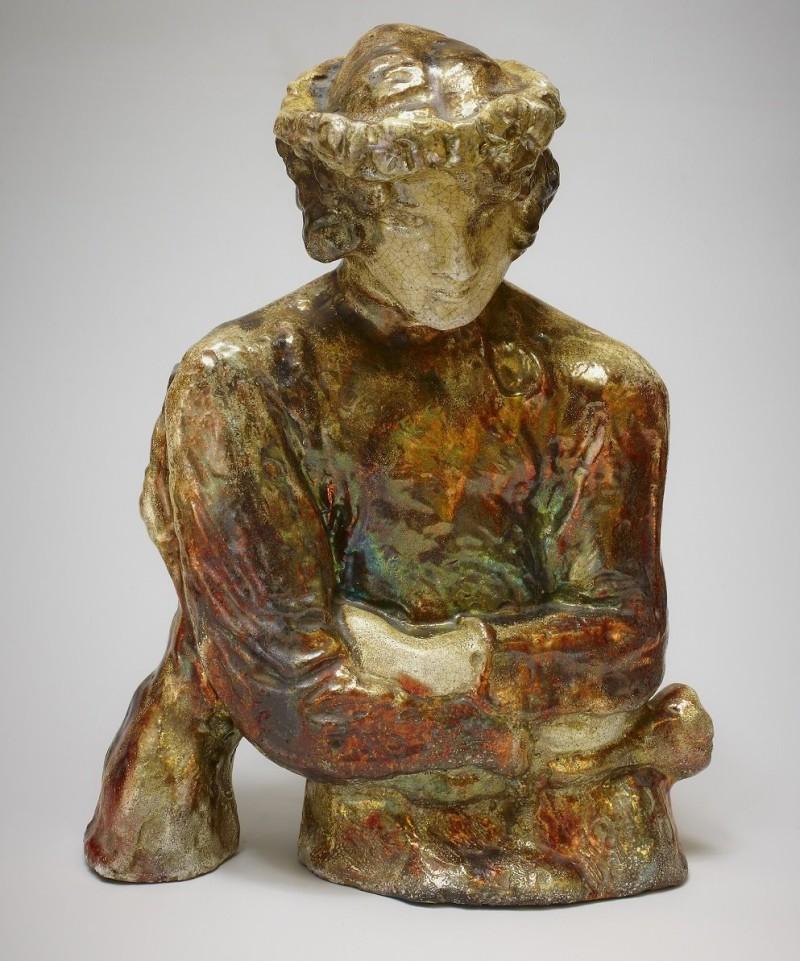 Лель. М. Врубель. Начало XX века. Скульптура с эффектом люстр
