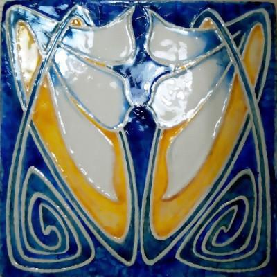 Плитка ручной работы в стиле Арт-Нуво и модерн